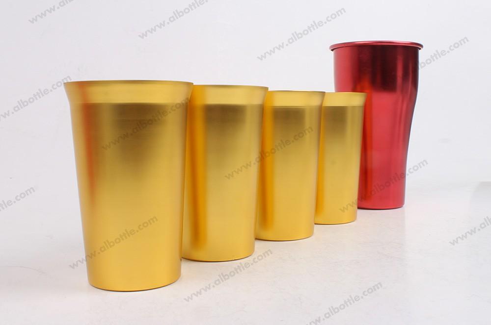 2 of aluminum-cup