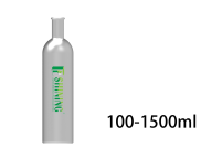 Aluminum Bottle With Cork